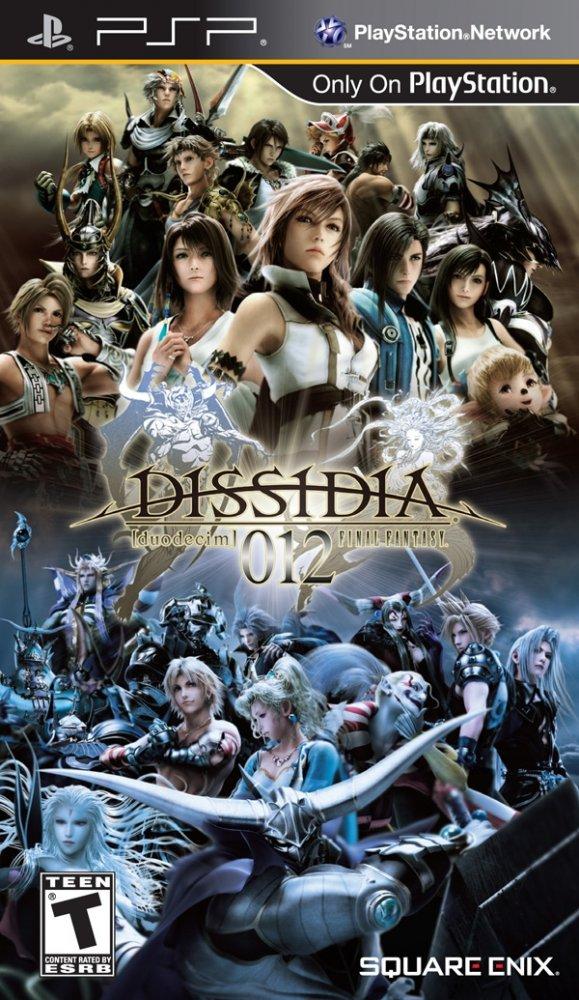 Dissidia 012 final fantasy rus скачать